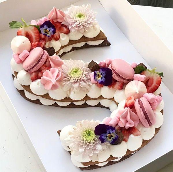 Un gâteau d'anniversaire au top !