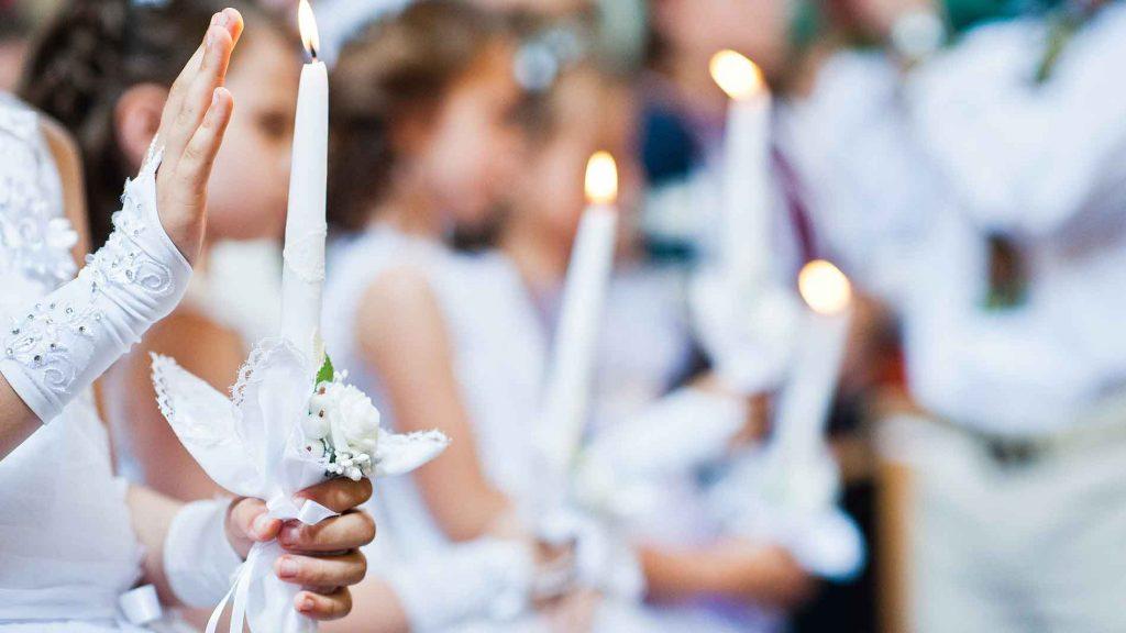 Offrir une chanson personnalisée pour une communion